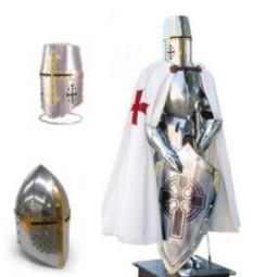 Armature ed elmi Templari