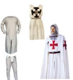 Costumi Templari