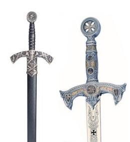 Spade Templari